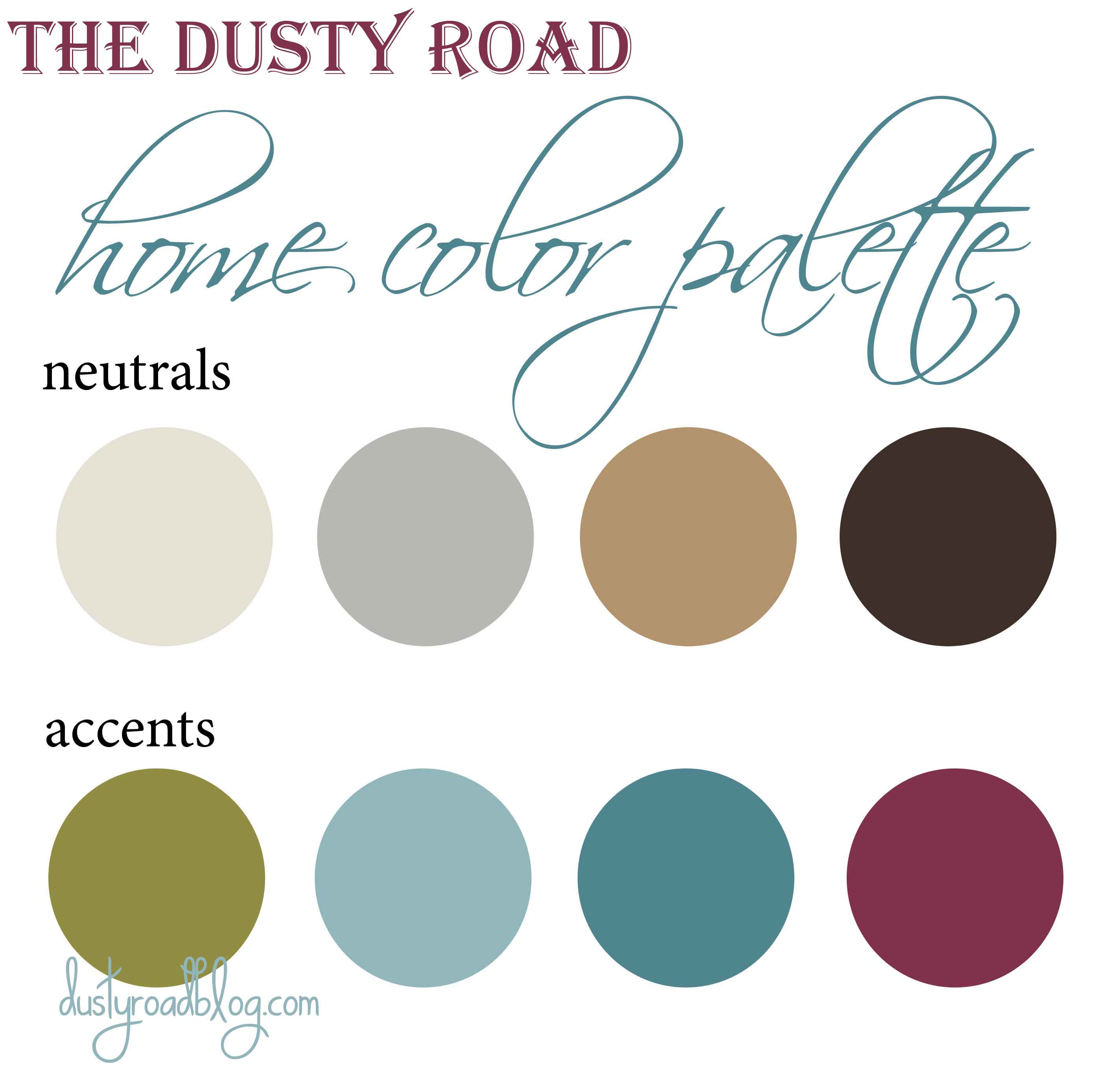 Home Color Palette Home Sweet Home Pinterest