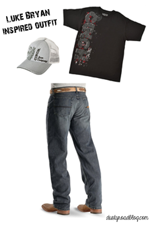 Luke Bryan Inspired Outfit | dustyroadblog.com