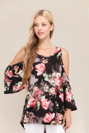 24011 love always floral print cold shoulder top in black 1.jpg